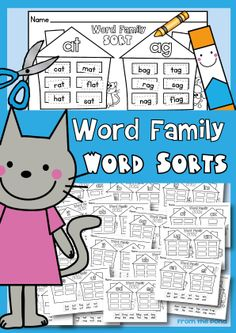 Word Family Word Sorts $