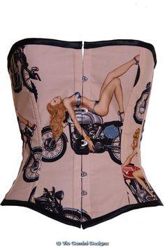 pin up girl corset