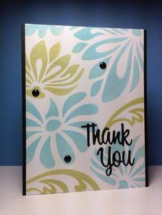 Lotus stencil, HA, by beesmom - Cards and Paper Crafts at Splitcoaststampers