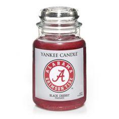 University Of Alabama (Black Cherry) : Large Jar Candle : Yankee Candle