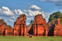 Un lugar que debes visitar en Brasil.  En 1984 estas ruinas fueron declaradas Patrimonio de la Humanidad por la Unesco (El Mundo en Maletas)
