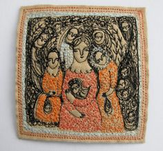 charms and wishes  original embroidery artwork by cathycullis | just incredible