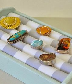 Tutorial: Wooden Ring Box Organizer - Click the image for the Tutorial.