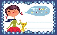 a happy bookplate...