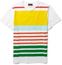 A.P.C Striped Summer T-Shirt