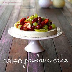 Paleo Pavlova Cake @