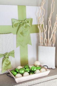 green white Christma