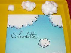summer school, cloud activ, books preschool activity, book crafts