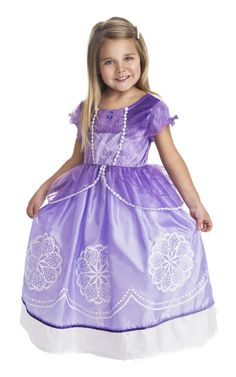 Sofia the First Inspired Dress Up Costume