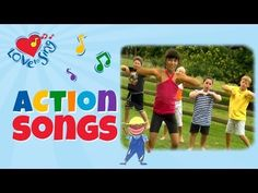 "Kids Action Song ""Country Jive"" - Children Love to Sing Kids Songs"