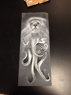 Lion and an octopus combined
