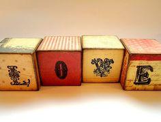cube, block letter