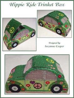 Hippie Ride Trinket Box by Suzanne Cooper - How cool is this??