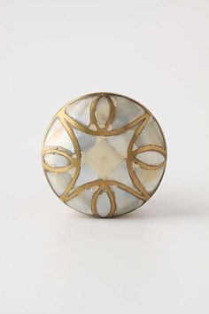 Mother-Of-Pearl Knob