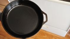 How to Remove Rust from a Cast Iron Skillet -- via wikiHow.com