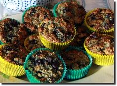 Gluten free Blueberry Coconut Muffins