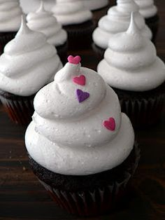 White Cloud Icing. Light and fluffy!