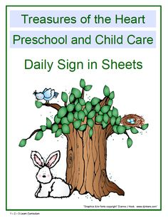 I have added 8 sign in sheet covers to 1 - 2 - 3 Learn Curriculum under the free download page... These can be used with the free monthly sign in sheets. This will give you 2 different options for each season. You can print directly onto the sheet your child care name.... Place in the front of your parent sign in book.  To view visit http://www.123learncurriculum.com and click on the free download page. (File is above the monthly sign in sheets)