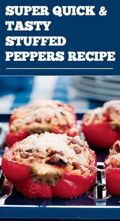 Stuffed Bell Peppers | Recipe