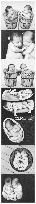 newborn twin poses