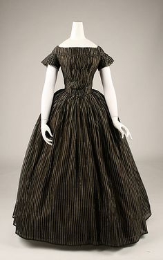 Mourning Dress 1840