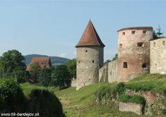 Slovakia, Bardejov - City walls