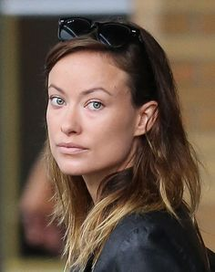 Olivia Wilde Makeup-Free In NYC