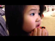 4 year old learns her baby teeth will fall out - YouTube