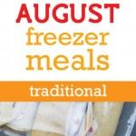 Monthly Freezer Menu from Once a Month Mom