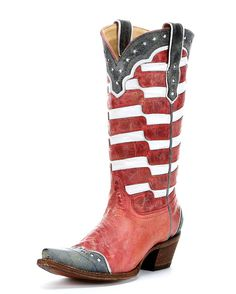 Corral Women's USA Cowgirl Boot   http://www.countryoutfitter.com/products/31019-womens-usa-a2515