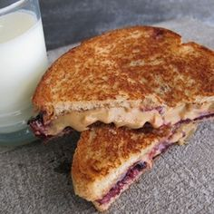 Grilled Peanut Butter & Jelly.