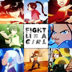 toph atla, geeki, girl, azula, fight, awesom, the last airbender, avatar, fandom