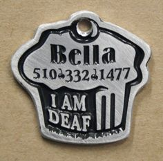 The best, light weight, handmade, most durable and creative dog tags around! Good Dog Tags! http://www.3dirtydawgz.com/store/designer-pet-id-tags/good-dog-personalized-dog-tags/?cart_id=1577
