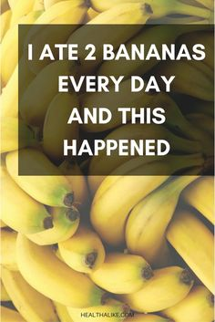 Sadly, most people are completely unaware of the amazing health benefits bananas???