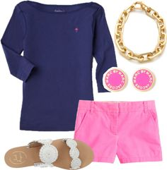 I would just make the shorts capris and keep everything else the same even the colors