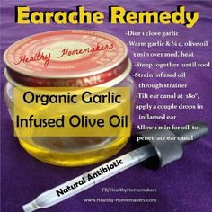 Earache remedy