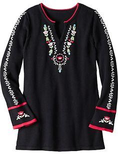 Edelweiss Tunic Sweater  from #HannaAndersson.