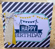 Birthday tag - made with the Everyday Occasions card kit!