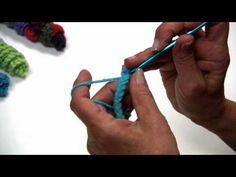 ▶ Curly Q Crochet - The Alternative to Fringe by Red Heart with Kathleen Sams - YouTube