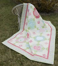 Yorkshire Park by Amanda Murphy in Best Fat Quarter Quilts 2014.