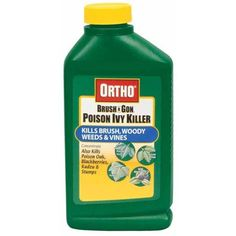 Ortho 0432960 Max Poison Ivy Tough Brush Killer Concentrate Bottle, 32-Ounce by Ortho. $18.48. Kills tree stumps of alder, maple, manzanita, willow and others. Can be used in Ortho Dial N Spray hose-end sprayer or tank-type sprayer. Kills woody plants and vines such as poison oak, poison ivy, willows, oak, wild blackberries and many other unwanted brushy plants and vines. Rain-proof in 2 hours. Your solution to tough weed problems. From the Manufacturer         ...