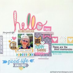 Ashley Horton Designs: Elle's Studio May Guest Designer