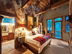 rustic master bedroom - zillow.com