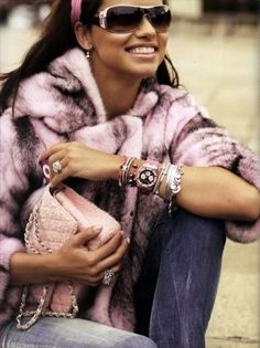 fur and a chanel