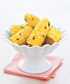Corn on the Cob With Tarragon recipe from realsimple.com. #MyPlate # ...