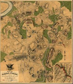 Map of the Battle of Antietam