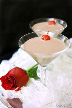 Chocolate cherry martini #recipe