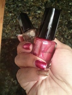 Love my CocoRae #nails @LoveCocoRae http://www.lovecocorae.com This Kiss w/Fancy Me
