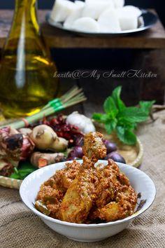 My Small Kitchen: Rendang Pedas Ayam Kampung
