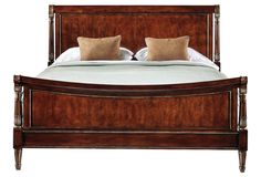 Reverie Cherry Sleigh Bed